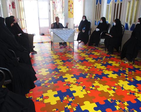 برگزاری جلسه شورای مربیان
